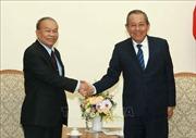 Quan hệ Việt Nam - Campuchia tiếp tục phát triển vững chắc