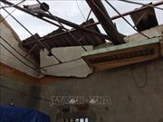 Mưa giông khiến 69 ngôi nhà bị tốc mái tại Bắc Kạn