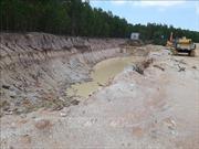 Nạo vét, cải tạo hồ Sông Hỏa hay tận thu khoáng sản?