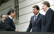 Quan chức thương mại Mỹ, Nhật Bản hội đàm trước thềm cuộc gặp thượng đỉnh