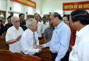 Thủ tướng Nguyễn Xuân Phúc tiếp xúc cử tri An Dương, Hải Phòng