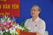 Thường trực Ban Bí thư Trần Quốc Vượng tiếp xúc cử tri huyện Văn Yên - Yên Bái