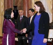 Phó Chủ tịch nước Đặng Thị Ngọc Thịnh tiếp Cao ủy phụ trách thương mại EU