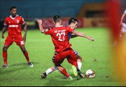 V.League 2019: Hà Nội vươn lên dẫn đầu, Sanna Khánh Hòa BVN hy vọng trụ hạng thành công