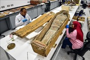 Ai Cập bắt đầu phục chế quan tài mạ vàng của Pharaoh Tutankhamun