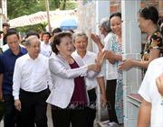 Chủ tịch Quốc hội Nguyễn Thị Kim Ngân làm việc với lãnh đạo chủ chốt tỉnh Thừa Thiên - Huế