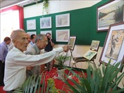 Triển lãm ảnh '50 năm thực hiện Di chúc của Chủ tịch Hồ Chí Minh'