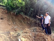 Sớm di dời 23 hộ dân trước nguy cơ sạt lở cao ở Đồng Chum, Hoà Bình