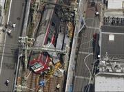 Tai nạn đường sắt ở Nhật Bản, hàng chục người bị thương