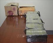 Triệt phá đường dây ma túy quy mô lớn, thu giữ 80 bánh heroin