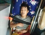 Điều động tàu cứu nạn khẩn cấp thuyền viên bị dập nát sườn và hai chân