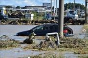 Siêu bão Hagibis cuốn trôi lượng lớn rác thải sau khử xạ tại Nhật Bản