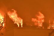 Cháy nhà chung cư tại Nga, nhiều thương vong