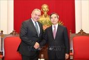 Trưởng Ban Kinh tế Trung ương Nguyễn Văn Bình tiếp Đoàn doanh nghiệp Hoa Kỳ