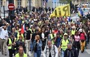 Pháp: 600 người biểu tình 'Áo vàng' họp đại hội bàn kế hoạch tiếp theo
