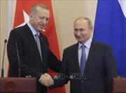 Lãnh đạo Thổ Nhĩ Kỳ, Nga thảo luận về tình hình Syria