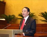 Kỳ họp thứ 8, Quốc hội khóa XIV: Thông cáo báo chí số 18