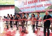 Khánh thành trạm bơm nước không dùng điện trên Cao nguyên đá Đồng Văn