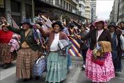 Biểu tình tiếp diễn, Bolivia thiếu nghiêm trọng nguồn cung thực phẩm