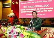 Phát huy vai trò nòng cốt của Quân đội anh hùng, xây dựng nền quốc phòng toàn dân vững mạnh