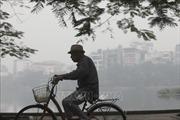Hai ngày cuối tuần, bụi mịn tại Hà Nội ở ngưỡng có hại cho sức khỏe
