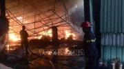 Hỏa hoạn thiêu rụi 2.000 m2 nhà xưởng tại Khu công nghiệp Nam Việt, Bình Dương