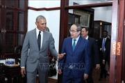 Bí thư Thành ủy TP Hồ Chí Minh tiếp cựu Tổng thống Hoa kỳ Barack Obama