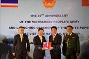 Kỷ niệm trọng thể 75 năm Ngày thành lập Quân đội Nhân dân Việt Nam tại Thái Lan