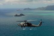 Mỹ điều tra vụ rơi máy bay trực thăng khiến 7 người thiệt mạng