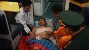 Cấp cứu kịp thời thuyền viên bị tai nạn lao động ở vùng biển Hoàng Sa
