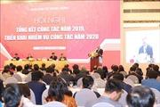 Thủ tướng dự Hội nghị triển khai nhiệm vụ công tác năm 2020 của Ban Kinh tế Trung ương