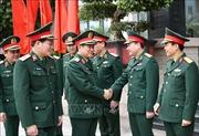 Bộ trưởng Ngô Xuân Lịch thăm, làm việc với Cục Quân y