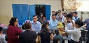 Khắc phục hậu quả vụ cháy trường Tiểu học Samaky - Tân Tiến tại Campuchia