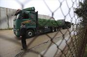 Israel nối lại hoạt động nhập khẩu nông sản của Palestine