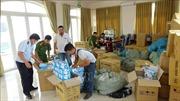 Phát hiện vụ vận chuyển hơn 193.500 khẩu trang y tế không có nguồn gốc