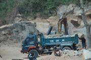 Khai thác khoáng sản trái phép tại mỏ đá Tóc Tiên (Bà Rịa-Vũng Tàu)