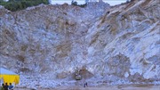 Tai nạn lao động tại mỏ đá, 2 người tử vong, 1 người chưa tìm thấy