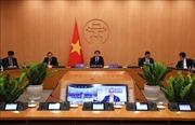 Chủ tịch UBND thành phố Hà Nội chia sẻ kinh nghiệm phòng, chống dịch COVID-19 với các thị trưởng thành phố trên thế giới