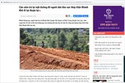 Phản hồi thông tin của TTXVN về mất an toàn giao thông do thi công thủy điện ở Lạng Sơn