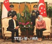 Phó Thủ tướng Phạm Bình Minh hội kiến với Tổng thống và Thủ tướng Singapore