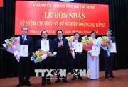 """Nhiều tập thể, cá nhân vinh dự được nhận Kỷ niệm chương """"Vì sự nghiệp đối ngoại Đảng"""""""
