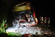Tai nạn xe buýt tại Ba Lan, trên 50 người thương vong