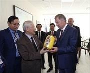 Tổng Bí thư Nguyễn Phú Trọng thăm tỉnh Kaluga, Liên bang Nga