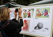 Không có giải nhất cuộc thi Tranh biếm họa chủ đề phòng chống tham nhũng