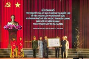 Công bố thành lập thành phố Hà Tiên thuộc tỉnh Kiên Giang