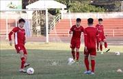 AFF Suzuki Cup 2018: Đội tuyển Việt Nam tập nhẹ tại Viêng Chăn