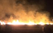 Cháy lớn trong đêm tại quán karaoke gần Văn Miếu - Quốc Tử Giám