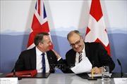 Anh ký thỏa thuận duy trì hoạt động thương mại với Thụy Sĩ thời hậu Brexit