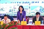 Phó Chủ tịch nước dự Hội nghị thi đua Cụm Tây Nguyên và Duyên hải miền Trung