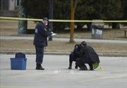 Nổ súng trong diễu hành mừng chức vô địch bóng rổ, hai người bị thương nặng